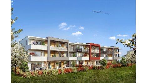 Appartements et maisons neuves Domaine des Rubis éco-habitat à Thonon-les-Bains