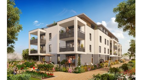 Programme immobilier neuf Le Dahlia éco-habitat à Vétraz-Monthoux