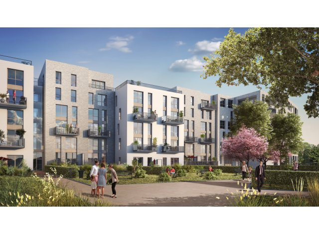 Programme immobilier neuf Quartier Nature Montreuil