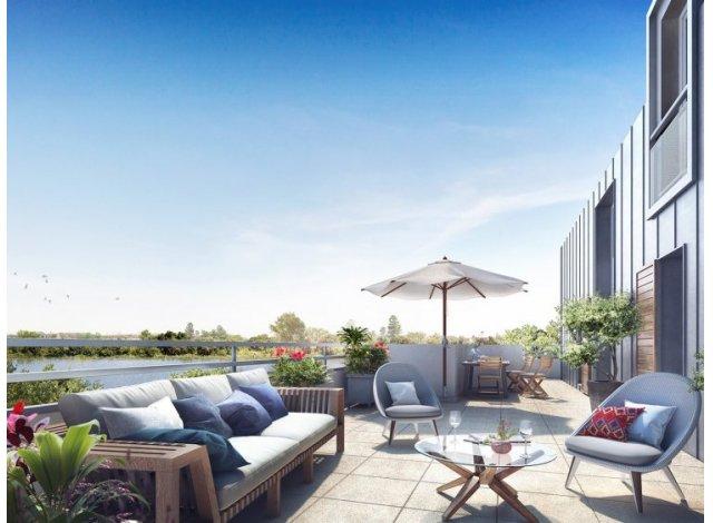 Écohabitat immobilier neuf éco-habitat Val de Marne Parc en Seine