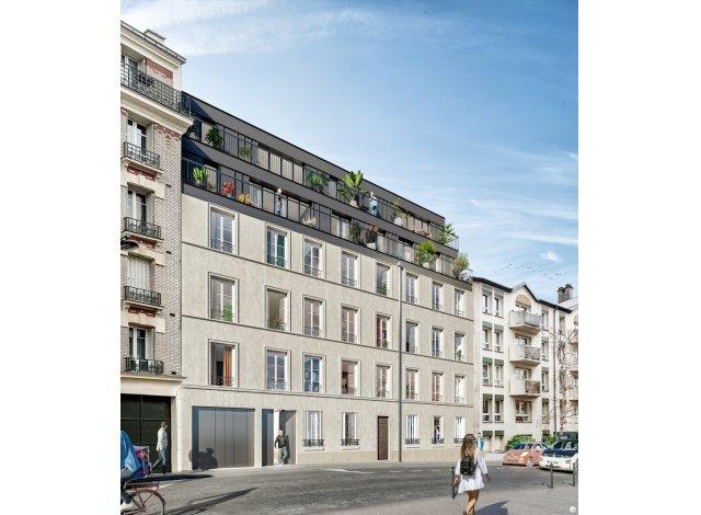Eco habitat programme Belleville - Telegraphe Paris 19ème