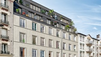 Terrain constructible à Paris 19ème