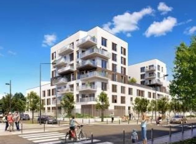Programme immobilier neuf Cadence Saint-Denis
