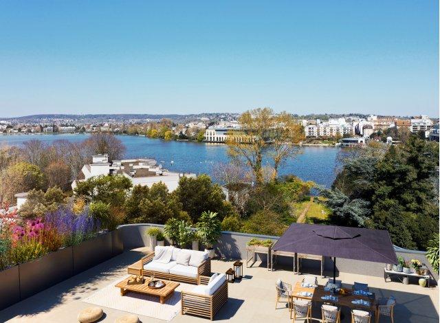 Programme immobilier loi Pinel Lac en Scène à Enghien-les-Bains