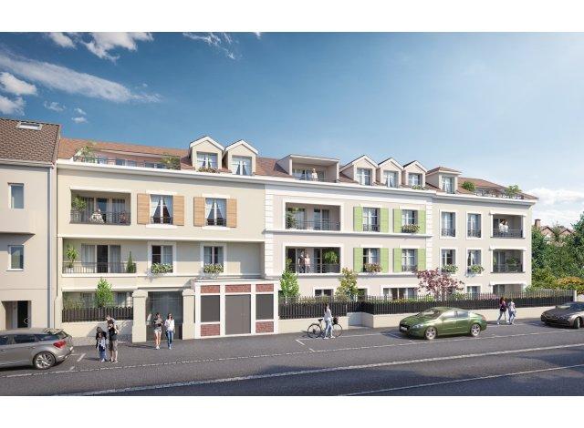 Eco habitat programme Le 42 Paris Saint-Leu-la-Forêt