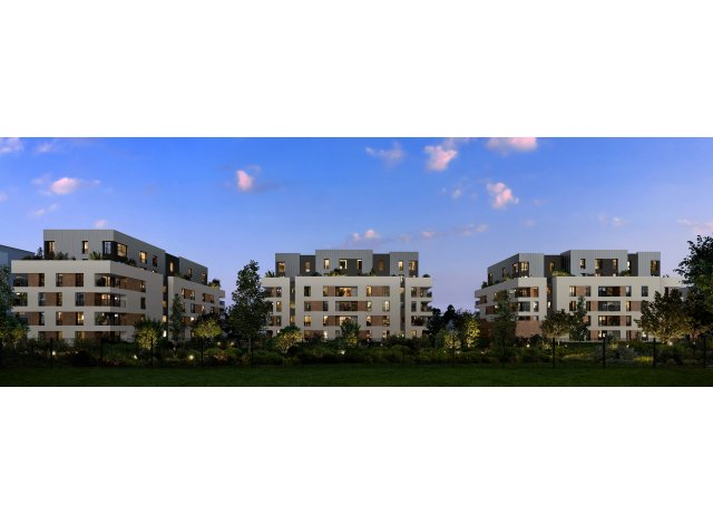 Programme immobilier loi Pinel Les Allees du Parc à Vernouillet