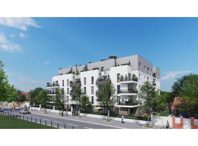 Eco habitat programme Green Park Champigny-sur-Marne