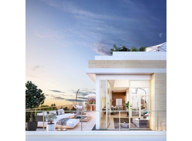 Programme immobilier loi Pinel 2 Prieure à Saint-Germain-en-Laye