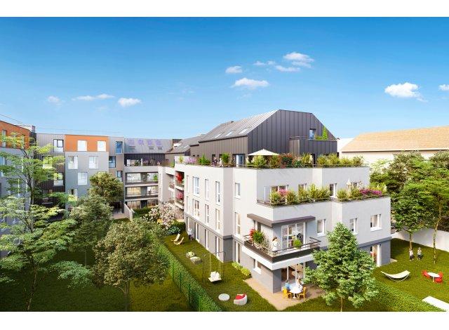 Programme immobilier neuf éco-habitat Villa des Sources à Guyancourt