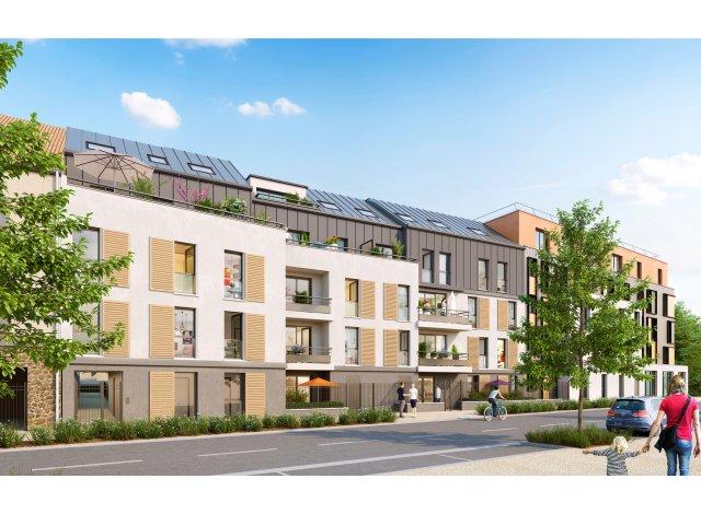 Appartement neuf Villa des Sources éco-habitat à Guyancourt