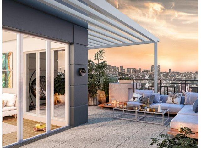 Programme immobilier loi Pinel Square à Sartrouville