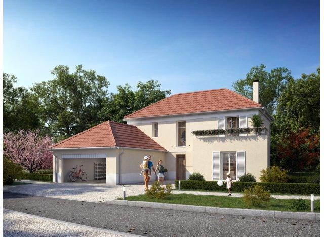 Eco habitat programme Villas & Jardins Saint-Prix