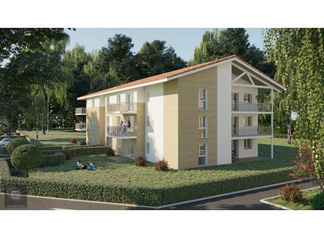Appartement neuf Domaine de la Garenne éco-habitat à Castelnau-de-Medoc
