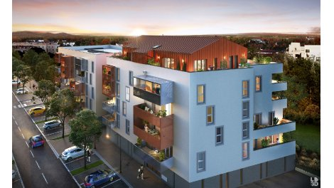 Appartement neuf Orea Park éco-habitat à Pau