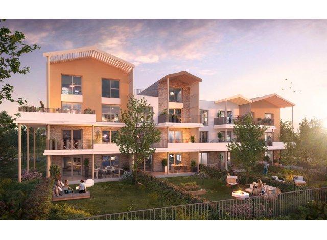 Programme immobilier loi Pinel Le Parc du Faubourg à Toulouse