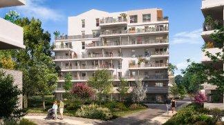 Eco habitat programme Le Parc du Faubourg Toulouse