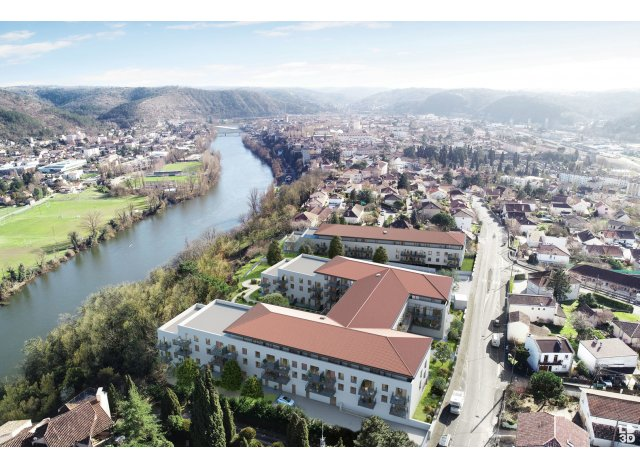 Programme immobilier neuf L'Amarante Cahors