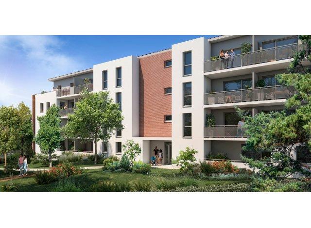 Programme immobilier loi Pinel Le Jardin de Marius à Toulouse