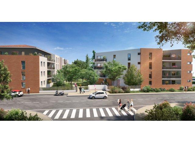 Eco habitat programme Le Jardin de Marius Toulouse