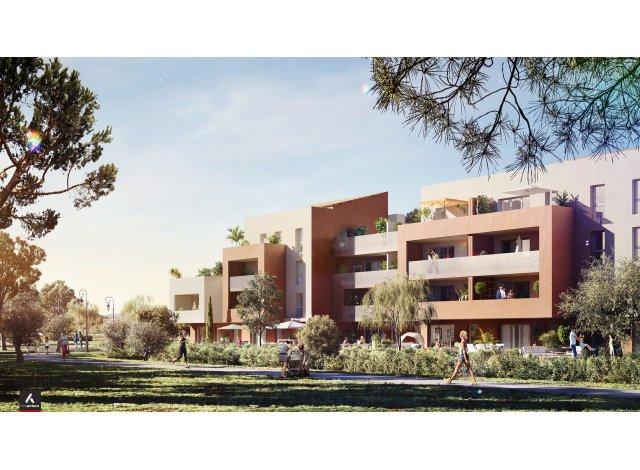 Programme immobilier loi Pinel A Fleur de Ville à La Farlède
