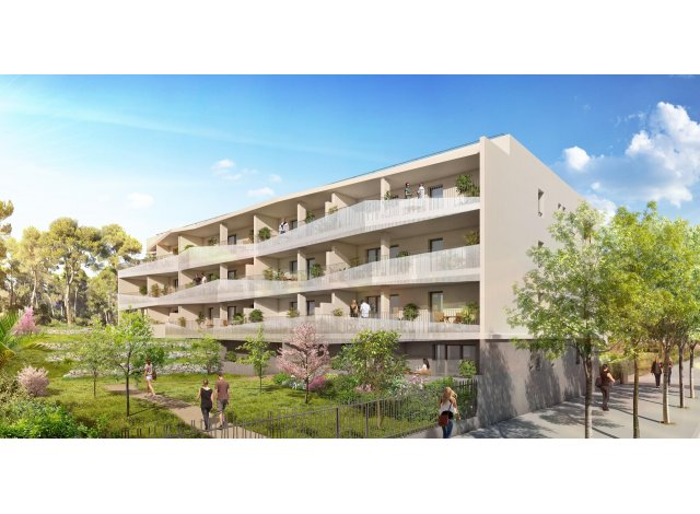 Appartement neuf Coeur Duranne éco-habitat à Aix-en-Provence