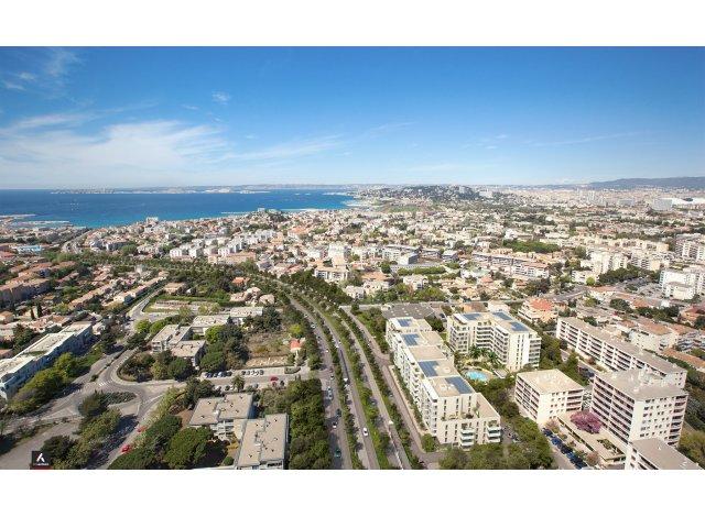 Programme immobilier neuf Mee Vues à Marseille 8ème
