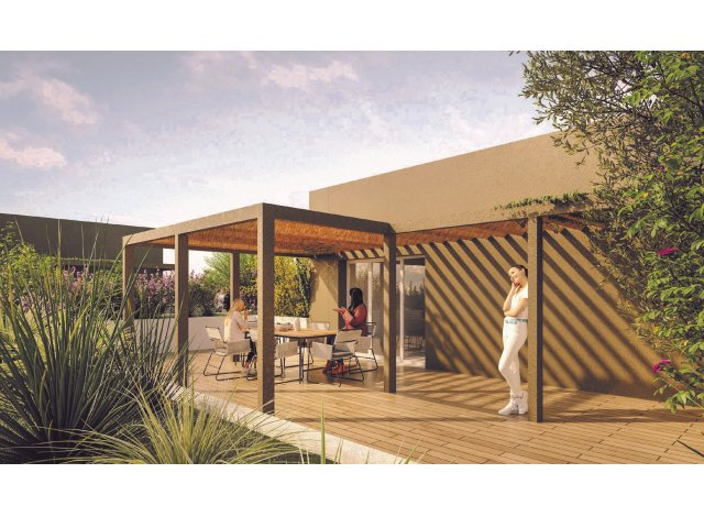 Eco habitat programme Jardin Augustin Marseille 13ème