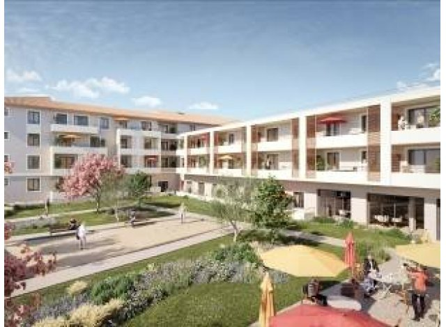 Programme immobilier neuf Residence Services Seniors Châteaurenard