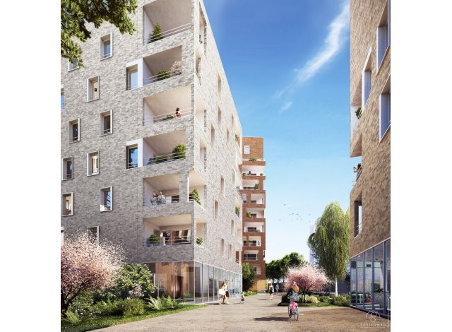 Investissement loi Pinel neuf Villeurbanne