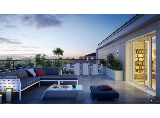 Programme immobilier loi Pinel N.o.u : Nouvel Opus Urbain à Villeurbanne