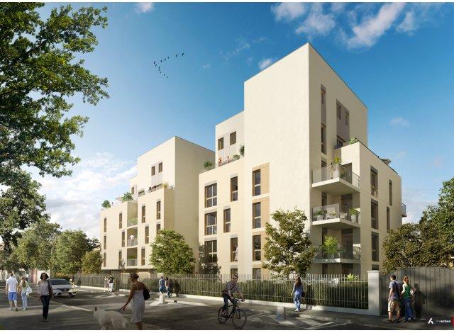 Programme immobilier loi Pinel Auguste et Louis à Lyon 8ème