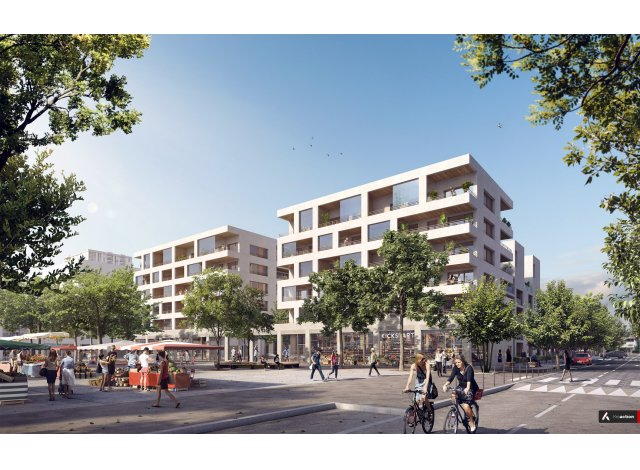 Eco habitat programme Le Champ des Possibles / l'Agora Bron