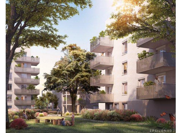 Programme immobilier loi Pinel Vert Millon à Lyon 8ème