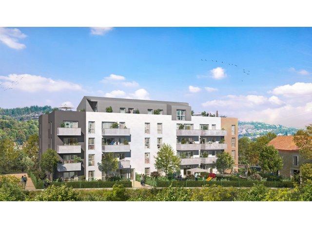 Programme immobilier loi Pinel Au Fil de l'O à Plombières-lès-Dijon