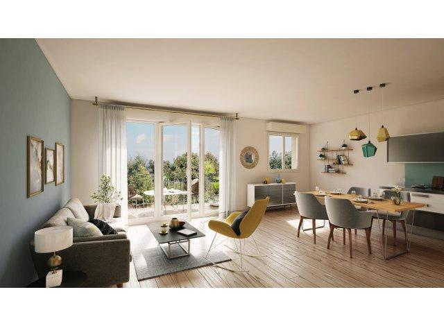 Programme immobilier loi Pinel Plein Ouest à Francheville