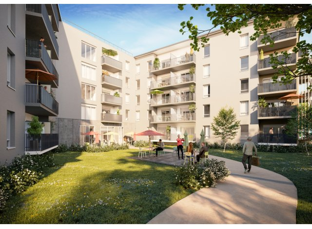 Eco habitat programme Marguerite Bourg-en-Bresse