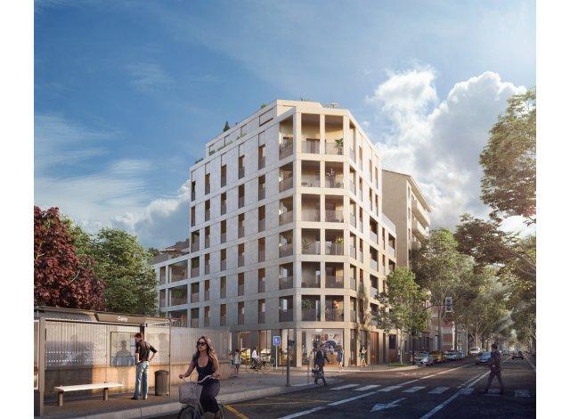 Programme immobilier loi Pinel Arty à Lyon 3ème