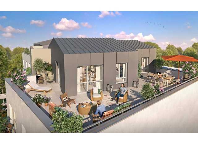 Eco habitat programme La Croisee des Arts Dijon
