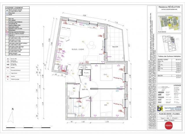 Programme immobilier loi Pinel Revelation à Clermont-Ferrand