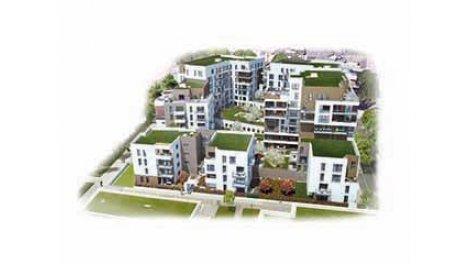Eco habitat programme Les Terrasses Luciline Rouen