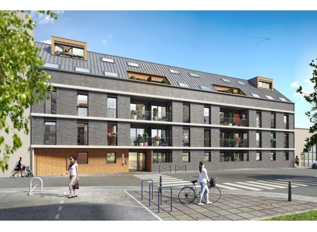 Programme immobilier neuf L'Attik à Rouen