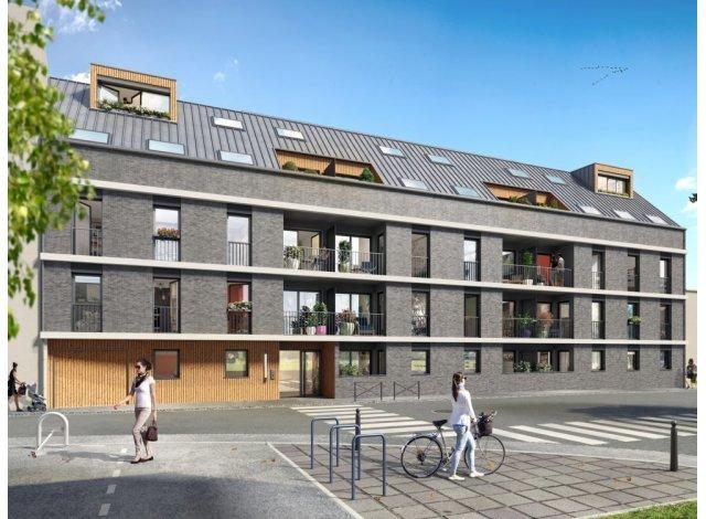 Eco habitat programme L'Attik Rouen