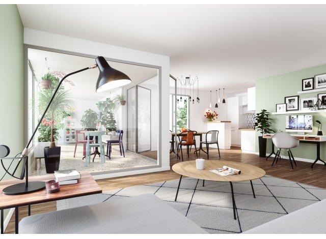 Programme immobilier loi Pinel Le Flore à Nantes