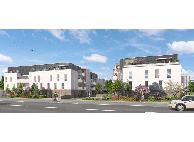 Programme immobilier loi Pinel Villa Verde à Rezé