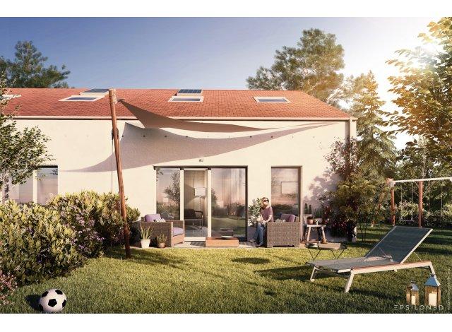 Eco habitat programme Résidence l'Aquarelle Les Sorinières
