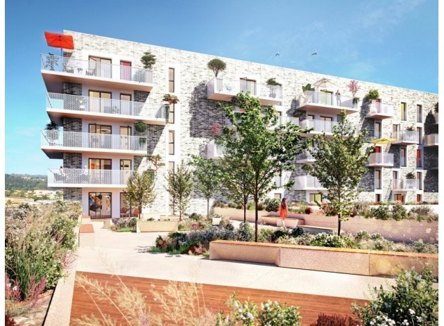 Programme immobilier neuf éco-habitat Bordocima à Bordeaux