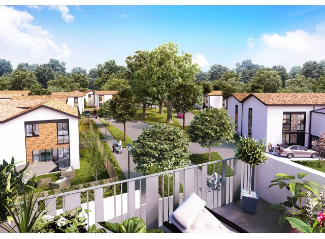 Écohabitat immobilier neuf éco-habitat Domaine de Castera
