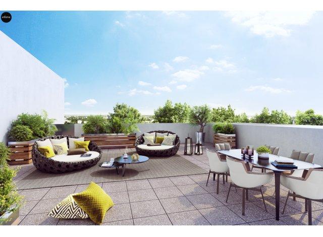 Programme immobilier loi Pinel Arboresens à Mérignac