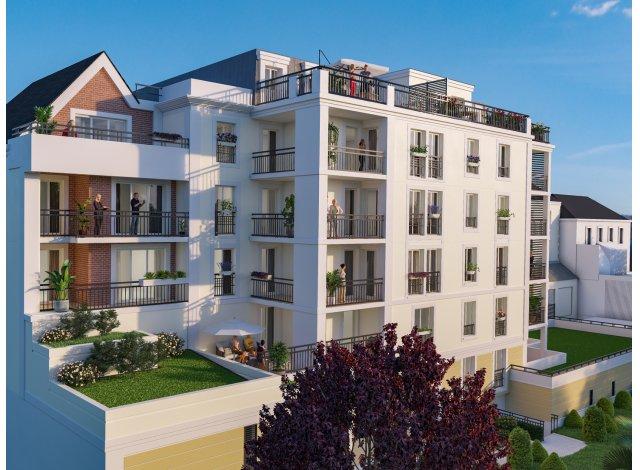 Programme immobilier neuf Le Parc Dauphine à Orléans