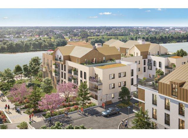 Programme immobilier loi Pinel Les Berges d'Houlippe à Orléans